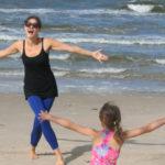 Rodzinne dialogi spisane na plaży