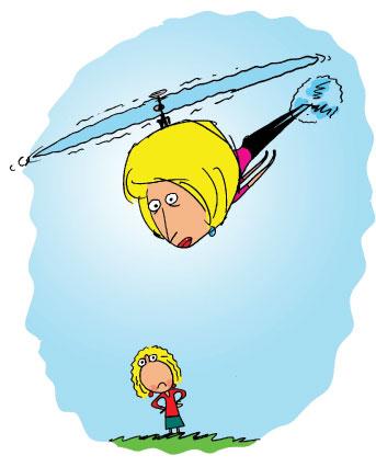 helikopterowi rodzice