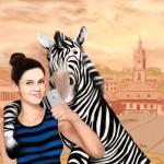 Dzień jak co dzień: selfie z zebrą :)